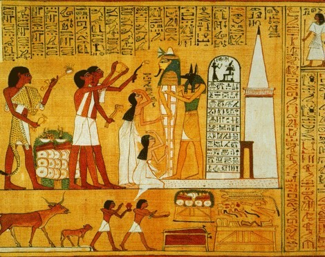 how the ancient egyptians viewed life and death